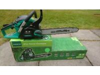Chainsaw Petrol engine as new condition