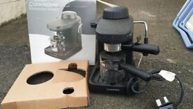 BRAND NEW Expresso maker with milk frother still in box