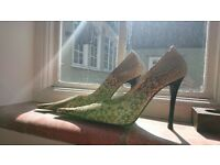 shoes real snake leather size 39 small never used