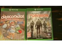 Division and Overcooked Xbox One