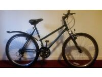 Raleigh Activator Unisex Mountain Bike with Lock
