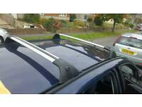 Roof bars for a Ford Focus Estate