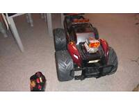 Toy remote control monster truck