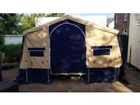 Trigano Oceane trailer tent. Very good condition, with large 3 mtr awning, curtains, ground sheet