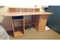 Large Desk, Home Office, Excellent condition