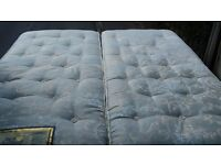Super King size Divan Bed FREE DELIVERYcomplete with superb mattressHardly used no stains superking