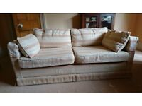 Sofa bed - 5ft 7in wide X 3 ft deep.