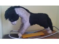 Merrythought Rocking Horse (vintage) - COLLECTION ONLY