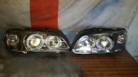 Peugeot 106 angel and lexus lights