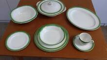 Alfred Meakin Dinnerware green and gold Penguin Central Coast Preview