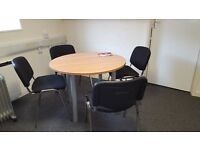 Black Conference Chairs available - Good Condition x 19