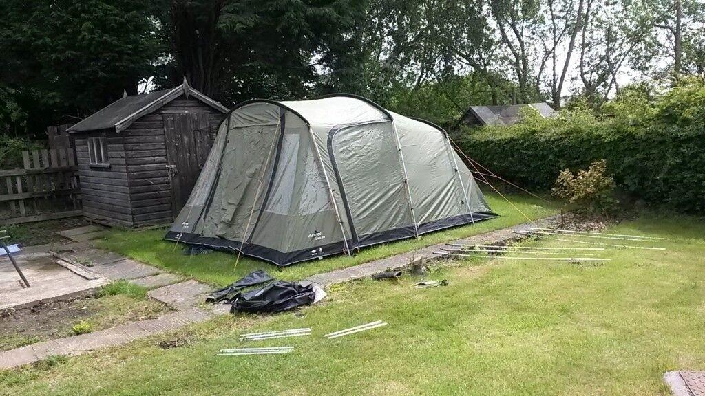 Tent Vango Calisto 500 5 man tent and camping equipment ...