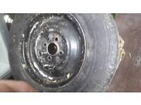 2 x 175 caravan wheel &tyres 14 in