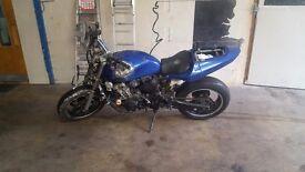 Honda cb600 unfinished streetfighter/stunt bike project
