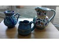 Various jugs