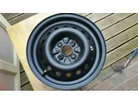 """ROVER MG TF 2003 14"""" STEEL SPARE WHEEL RIM ONLY"""