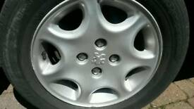 Peugeot alloy wheel