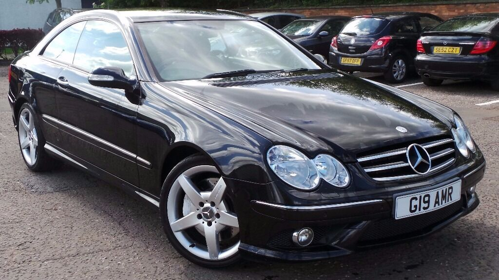 2006 06 mercedes clk 320 cdi sport coupe amg auto diesel cheaper part ex welcome in southside. Black Bedroom Furniture Sets. Home Design Ideas