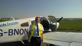 Introductory Flight experience for Gifts or Presents from The Glasgow Flying Club