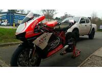 Ducati 749 with daytime MOT! Loads of race spec upgrades