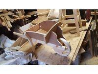 Hand made wheelbarrow