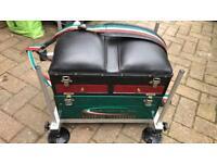 Maver fishing box/seat