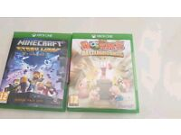 Xbox one games: Worms and Minecraft story mode