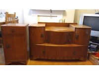 Chest of drawers and a bedside cabinet for £20