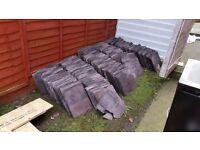 Free slates 14x12 purple welsh slate .pick up from ford estate .Sunderland