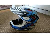 Fly Racing Default full face helmet.
