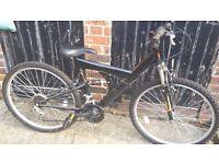 adult/teen suspension bike - KENT