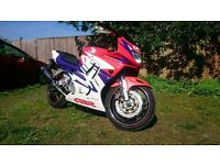 Honda CBR600f New chain/sprocket and tyres