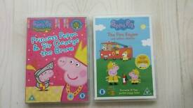 Peppa pig DVDs £6 both excellent condition