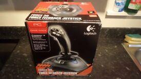 Logitech Wingman Force 3D USB Force Feedback Joystick Game Controller