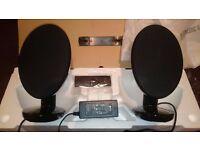 KEF EGG Wireless Digital Music System like new (SP3874BB)