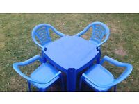 Kids / Childrens Table and Chair Set