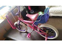 Bicycle girl.