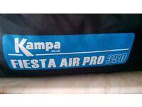 Kampa 350 Fiesta Pro 350 blow up awning