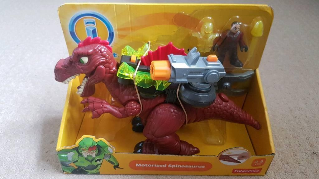 BNIB Imaginext Spinosaurus kids toy