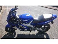 2003 Yamaha YZF600R Thundercat - 11 months MOT Sport/Touring