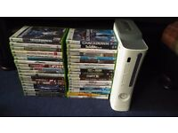 *READ* Xbox 360 LT 60GB and games