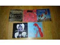"5 x 7"" jimmy page robert plant solo singles ( led zeppelin )"
