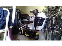 Drive Prism 3 wheel Mobility Scooter brand new condition.