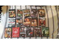 DVDs BUNDLE!! less than £1 per DVD
