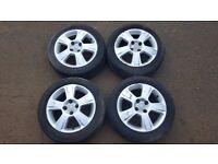 """Vauxhall Corsa 15"""" Alloy Wheels (Nova, Tigra, Astra)"""
