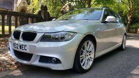 2012 BMW 318D M SPORT TOURING 123000 MILES 1 FORMER KEEPER IDRIVE BIG SATNAV £30 YEAR ROAD TAX (320D