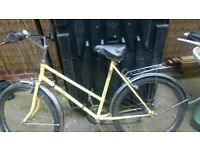 Ladies Vintage Bicycle Kalkhoff German made Bike from about 1980 with Large Frame.