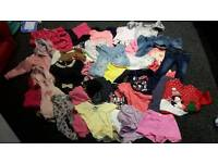 Baby girl clothes joblot