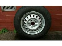Triumph Acclaim Wheel and Tyre