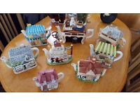 Country teapots